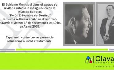"""Muestra Fotográfica """"Perón, el hombre del destino"""""""