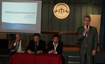 Olavarría será sede de una Charla informativa sobre presentaciones y notificaciones electrónicas