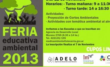 El 12 de noviembre se realizará la Feria Educativa Ambiental en el Museo de Ciencias
