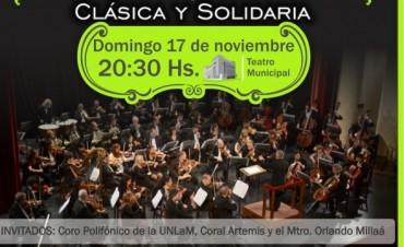 El próximo concierto solidario de la Sinfónica Municipal será para Talleres Protegidos