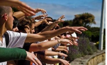 Jóvenes y memoria: alumnos de siete escuelas olavarrienses participan del campamento de cierre