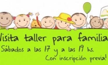 """Visita y Talleres para familias en el Centro Cultural Municipal """"San José"""""""