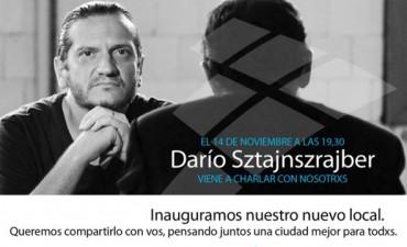 Darío Sztajnszrajber inaugurará nueva sede de Adepp