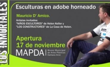 """Inaugura """"Los Inmortales"""" en el Museo Municipal de Artes Plásticas """"Dámaso Arce"""""""