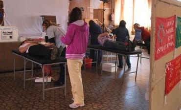 Se desarrolló con éxito una nueva colecta externa de donación de sangre