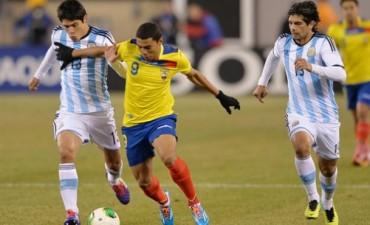 Amistoso internacional: Argentina - Ecuador 0 a 0 en EEUU