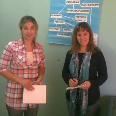 Talleres del equipo de abordaje psicosocial en la Unidad Nº2