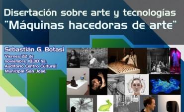 Disertación sobre Arte y Tecnología