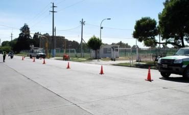 El Gobierno Municipal instala un nuevo semáforo en Avda. Pellegrini y Coronel Suárez