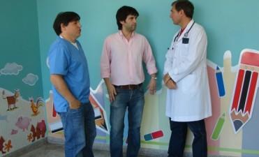 El Dr. Gastón Seambelar asumió como Jefe de Emergencias del Servicio de Pediatría del Hospital Municipal