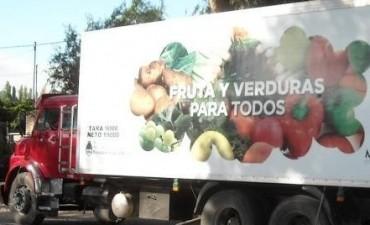 """""""Frutas y Verduras para Todos"""" llega a Olavarría"""