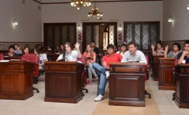 Concejo Estudiantil: 15 proyectos pasaron al Concejo Deliberante en la última sesión del año