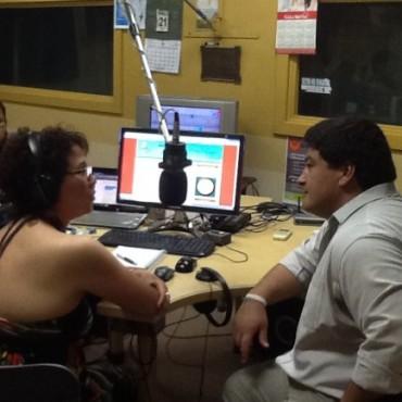 Docentes y Estudiantes de Perú visitaron los estudios de LU32