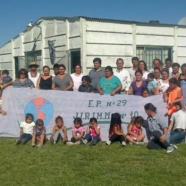 General Alvear: El intendente Cellillo y funcionarios asistieron al 5° encuentro de fútbol rural y festejo del día de la mujer rural
