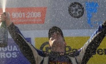 Nico Pezzucchi concluyó tercero en Trelew