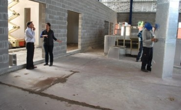 Importante avance muestra la construcción del Centro Municipal de Convenciones