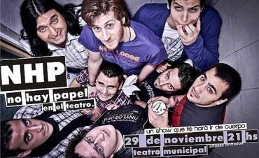 """La banda """"No hay Papel"""" llega al Teatro Municipal con su primer show"""