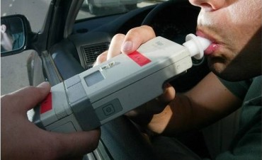 Más de 24 mil pesos de multa e inhabilitación para el conductor con récord del año en alcoholemia