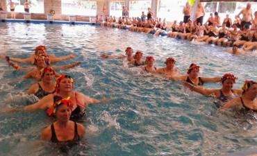 Se realizó el cierre de la Temporada de Invierno de Natación y Acqua Gym Municipal