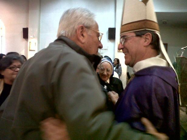 """Monseñor Salaberry: """" nuestro compromiso no contagia"""""""