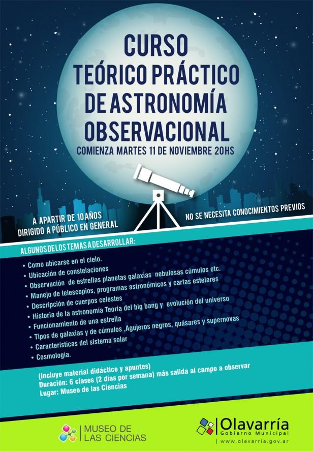 Curso Teórico Práctico de Astronomía Observacional