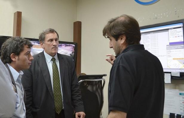 Concejal de 25 de Mayo recorrió el Centro de Monitoreo de Olavarría