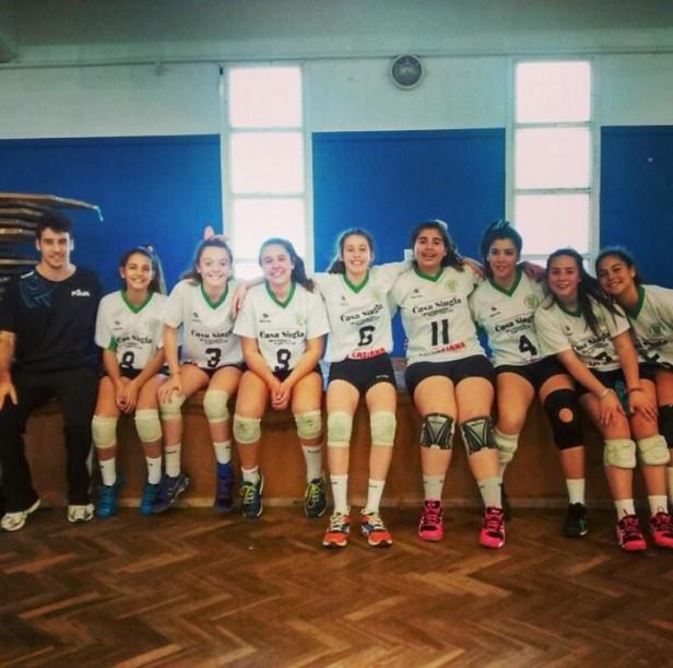 Juegos Evita: Pueblo Nuevo Campeón Sub 14 Femenino en Voley