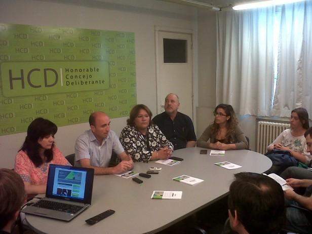 Presentaron la web del Concejo Deliberante