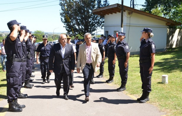 Eseverri acompañó a Granados en el acto de egreso de 330 policías de la Bonaerense