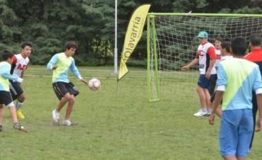 Encuentro de Fútbol Interbarrial para adolescentes