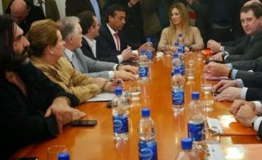 Reunión del Frente Gremial Docente con el gobierno