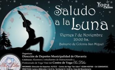 Saludo a la Luna en el Balneario de San Miguel