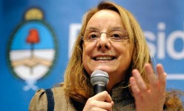 Llega este miércoles a Olavarría, Alicia Kirchner