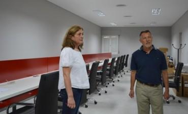 Se realizan obras en el Centro de Monitoreo Municipal para ampliar sus prestaciones