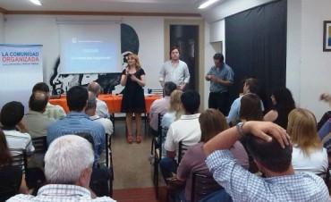 El PJ celebró el día del militante con una clase de la Escuela de Formación Políticas Públicas