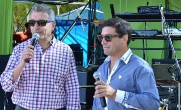 Marcelo Manolio y Cristian Di Pino en primer plano