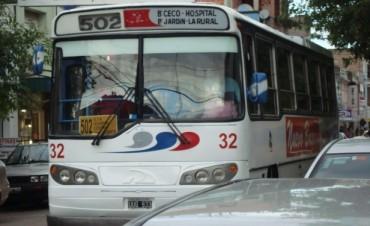 El paro de transporte afecta al servicio local