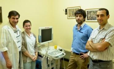 Funciona un nuevo Ecógrafo en el Hospital Municipal