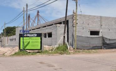 Avanza la construcción del nuevo edificio para el Servicio Territorial Municipal Nº 2