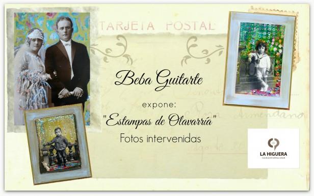 Exposición de fotografías intervenidas en La Higuera