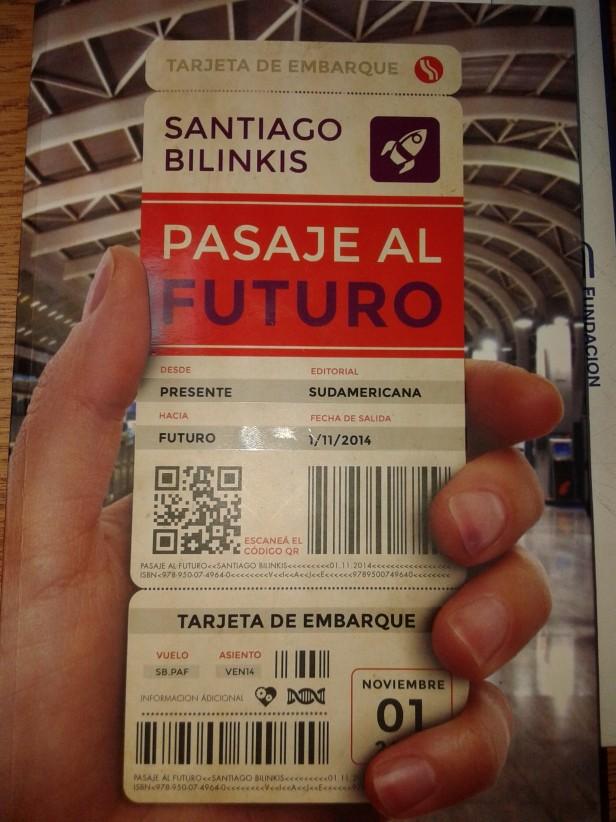 La Biblioteca: hoy Pasaje al Futuro