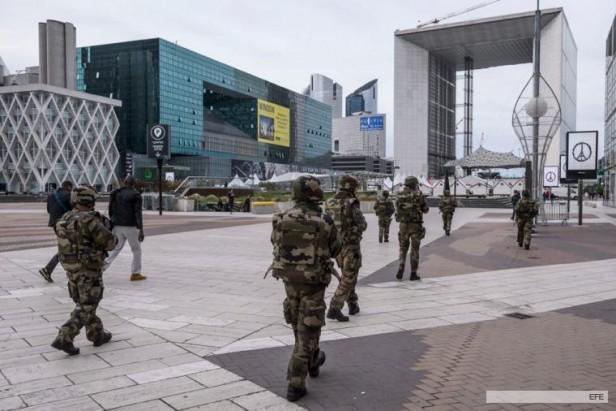 El Ejército de Francia patrullará las calles tras los ataques del Estado Islámico en París