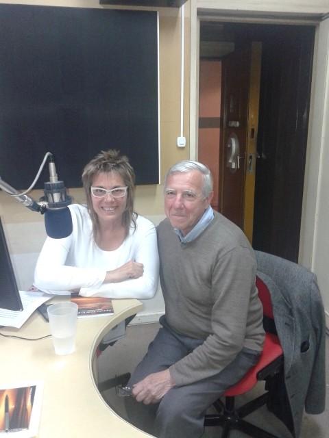 El escritor y profesor Roberto Forte en Ciudad Mágica
