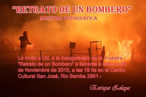 Retrato de un bombero, en la sala 5 del Centro Cultural San José
