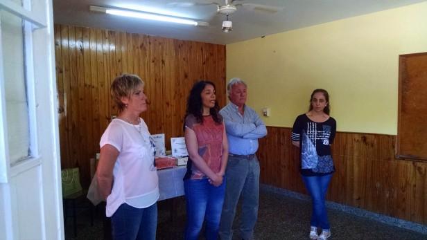 Escuela 49: Entregaron reconocimientos a instituciones del Barrio Luján