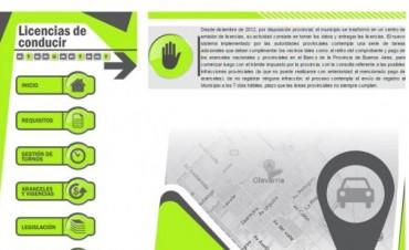 Se puso en marcha el Sistema de Licencias de Conducir en la Delegación de Loma Negra