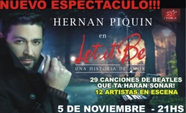 Hernán Piquín en Olavarría