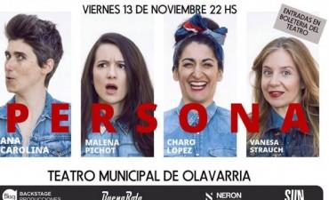 """""""Persona"""" con Malena Pichot en el Teatro Municipal"""