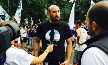 Valicenti y su apoyo a Scioli