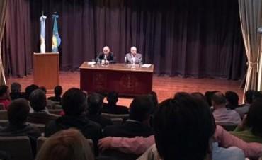 Reunión del Tribunal de Cuentas con intendentes electos